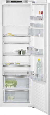 Siemens Set aus Einbau-Kühlschrank mit Gefrierfach und Aufbewahrungsbox KI82LADF0 + KS10Z010