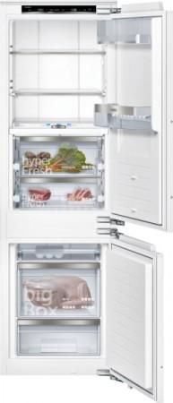 Siemens Set aus Einbau-Kühl-Gefrier-Kombi und Aufbewahrungsbox KI84FPDD0 + KS10Z010