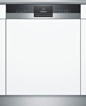 Siemens teilintegrierter Geschirrspüler iQ300 Edelstahl 60cm SN53HS60CE