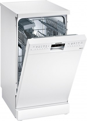 Siemens Geschirrspüler speedMatic  Stand weiß 45 cm SR236W07IE