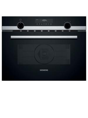 Siemens Einbau- Kompaktbackofen mit Mikrowellenfunktinon Edelstahl 60cm CM585AGS0