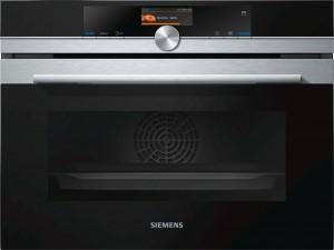 Siemens Kompaktdampfbackofen iQ700 Edelstahl CS636GBS2