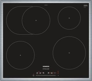 Siemens Induktions-Kochfeld Glaskeramik Edelstahl EH645FFB1M