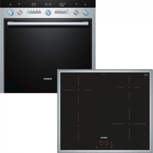 Siemens Herdset EQ771EX01B best. aus: HE76BD561 + EI640CEB1E
