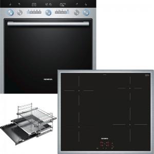 Siemens Herdset EQ771EX03T best. aus: HE76GB560 + EI640CEB1E + HZ338352