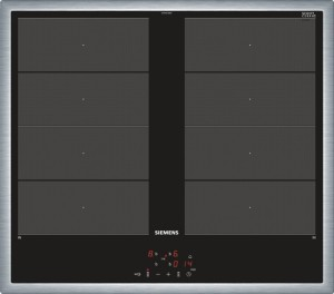 Siemens Induktions-Kochfeld Glaskeramik Edelstahl EY645CXB1E