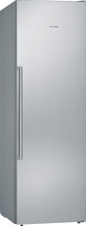 Siemens Stand Gefrierschrank noFrost iQ500 Türen Edelstahl antiFingerPrint GS36NAI4P