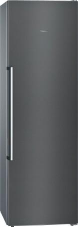 Siemens Stand Gefrierschrank noFrost iQ500 Türen black inox-antifingerprint GS36NAX3P