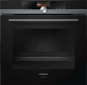 Siemens StudioLine Einbau-Backofen Schwarz iQ700 HB836GVB6