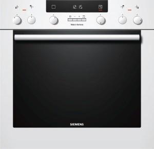 Siemens Einbauherd weiß HE33BD230 EEK: A