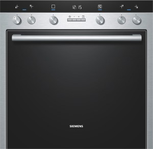 Siemens Einbauherd Edelstahl HE73GB550