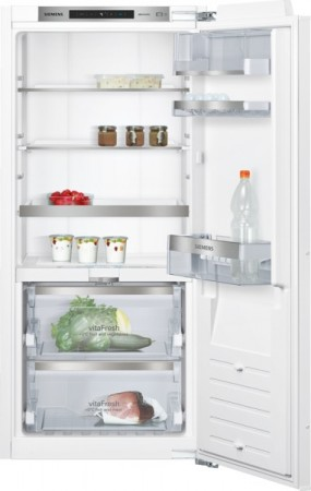 Siemens Einbau-Kühlautomat vitaFresh Flachscharnier-Technik, softEinzug mit Türdämpfung KI41FAD30 EEK: A++