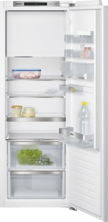 Siemens Einbau-Kühlautomat Flachscharnier-Technik, softEinzug mit Türdämpfung  KI72LAD30 EEK: A++