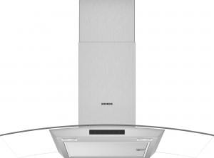 Siemens Wand-Esse Glas-Design 90 cm Edelstahl iQ300 LC96ABM50