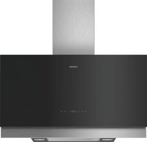 Siemens Wand-Esse Schwarz mit Glasschirm 90 cm LC97FQP60