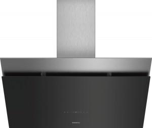 Siemens Wand-Esse Schwarz mit Glasschirm 90 cm LC98KPP60