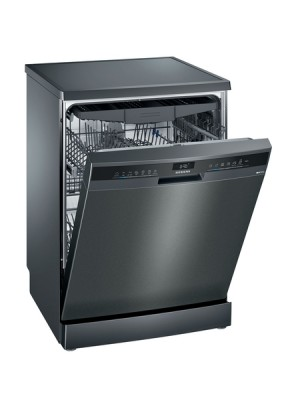 Siemens Geschirrspüler Black inox iQ300 SN23EC14CE