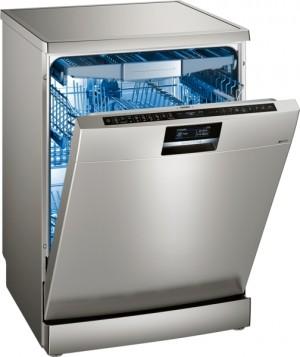 Siemens Geschirrspüler speedMatic »IQ 700« Stand Silver Inox antiFingerprint SN278I36TE