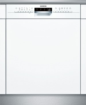 Siemens Geschirrspüler integrierbar Weiß iQ300 SN536W03NE