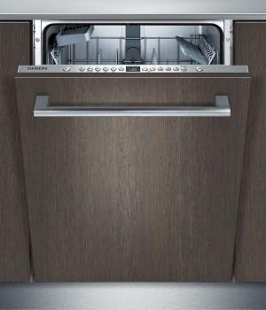 Siemens Geschirrspüler vollintegriert Edelstahl iQ300 SX636X03JE