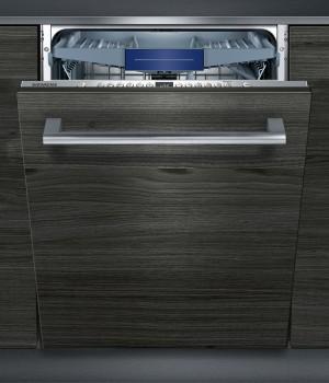 Siemens Geschirrspüler vollintegriert Edelstahl iQ300 SX736X19NE