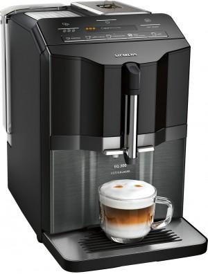 Siemens extraKlasse Kaffeevollautomat EQ.300 schwarz (Glas) TI355F09DE