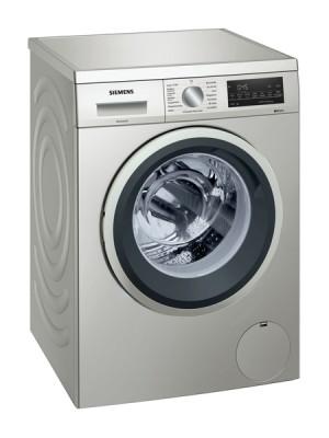 Siemens Waschmaschine unterbaufähig Frontlader silber- inox 1400U/min. 9kg WU14UTS0