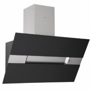 Silverline Wandhaube/Kopffrei 90cm Capella schwarz CPW953S