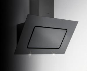 Silverline Wandhaube/Kopffrei 90cm Porto schwarz PRW953S