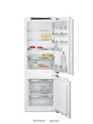 Siemens Einbau-Kühl-Gefrier-Kombi KI77SAF30 EEK: A++