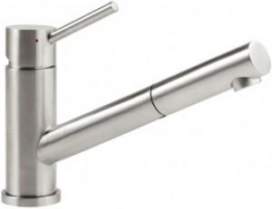 Villeroy & Boch Armatur Como Shower Niederdruck Edelstahl poliert 925211LE