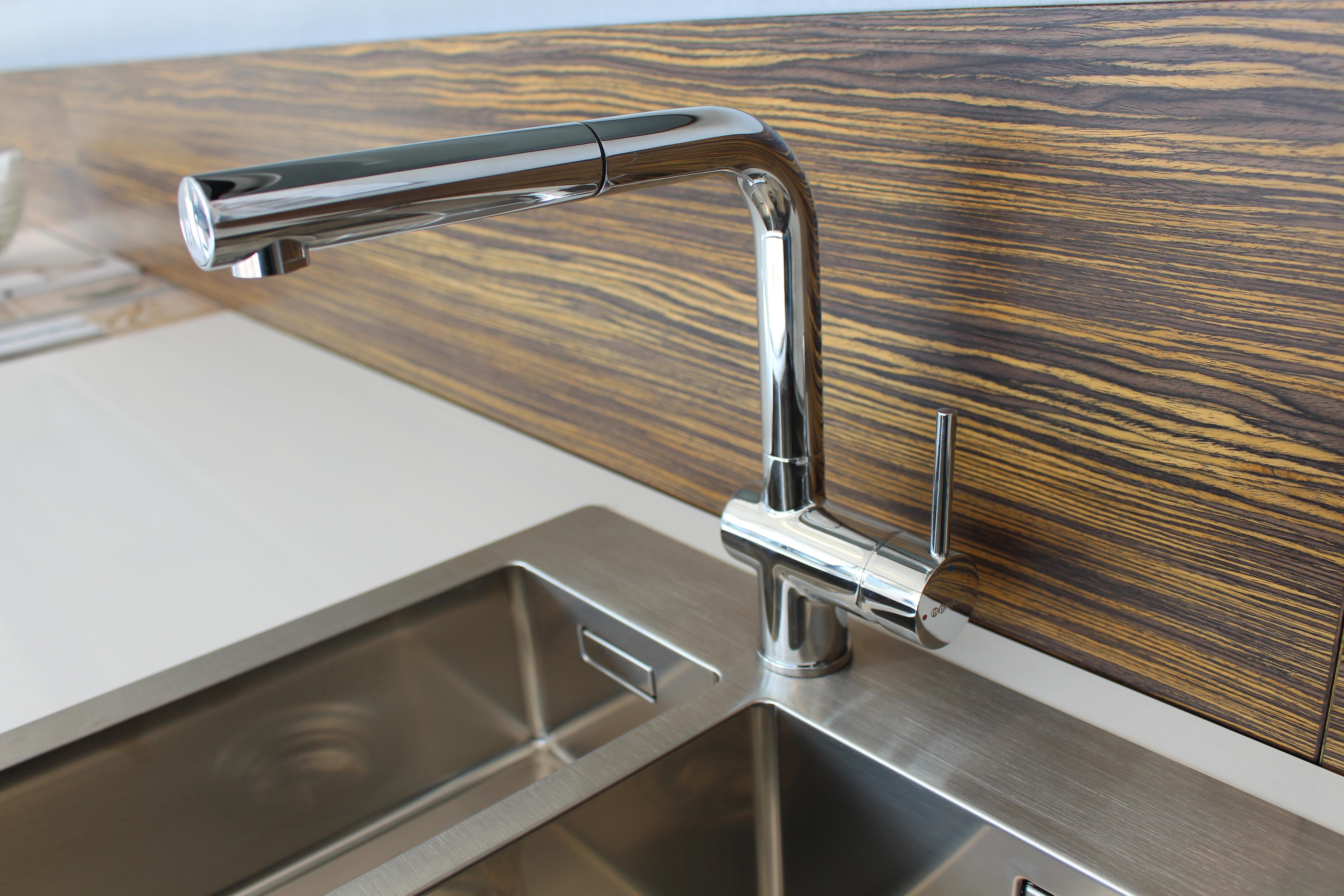 MP Küchen Küchenarmatur Chrom mit Schlauchbrause | psi24.com