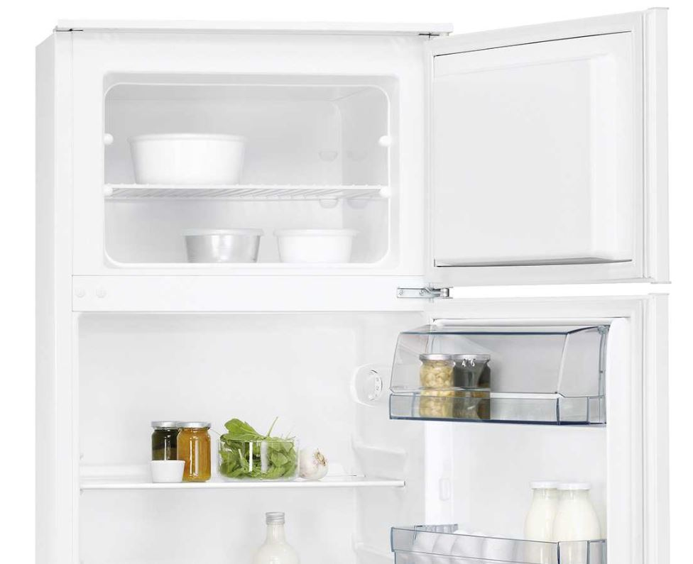 Aeg Integrierbare Kühlschränke : Aeg einbau kühl gefrier kombination sdb as psi