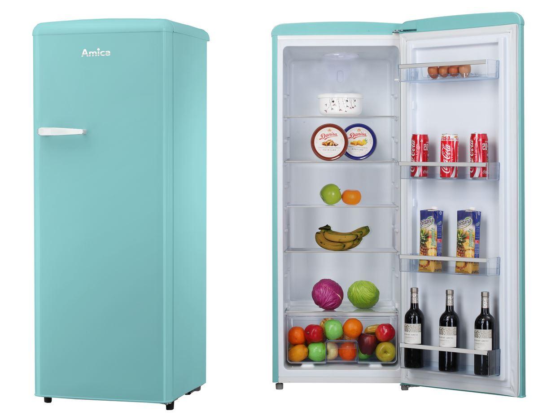Kühlschrank Retro : Amica vollraum kühlschrank im retro design a vksr t