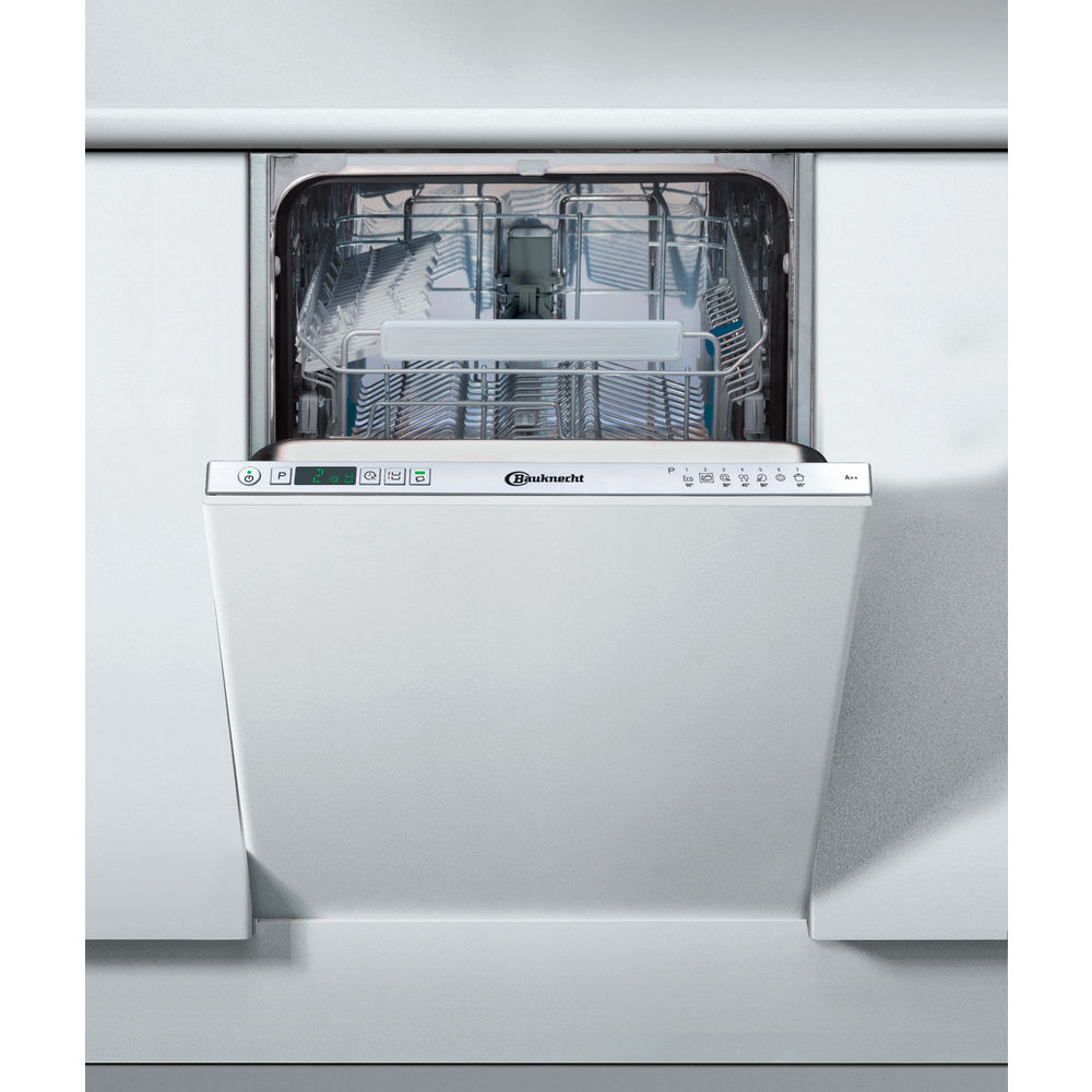 bauknecht geschirrsp ler 45cm vollintegrierbar silber painted gcx723. Black Bedroom Furniture Sets. Home Design Ideas
