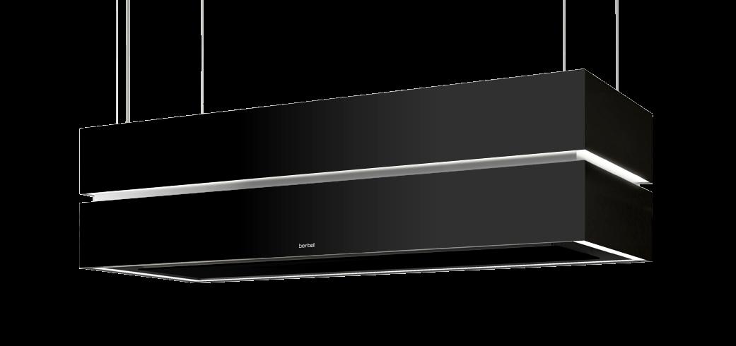 berbel deckenlifthaube skyline edge bdl 115 ske schwarz. Black Bedroom Furniture Sets. Home Design Ideas
