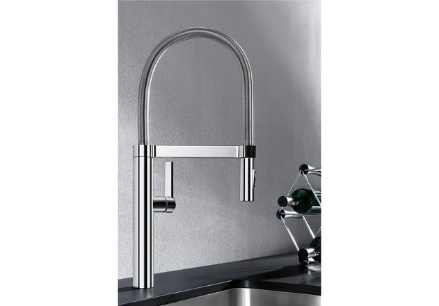 blanco blancoculina s edelstahl finish hd 517598. Black Bedroom Furniture Sets. Home Design Ideas