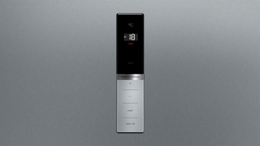 bosch stand gefrierschrank t ren edelstahl mit anti fingerprint nofrost gsn36bi3p. Black Bedroom Furniture Sets. Home Design Ideas
