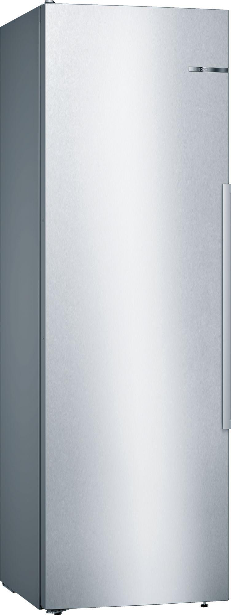Bosch Stand Kühlschrank Türen Edelstahl mit Anti-Fingerprint ...