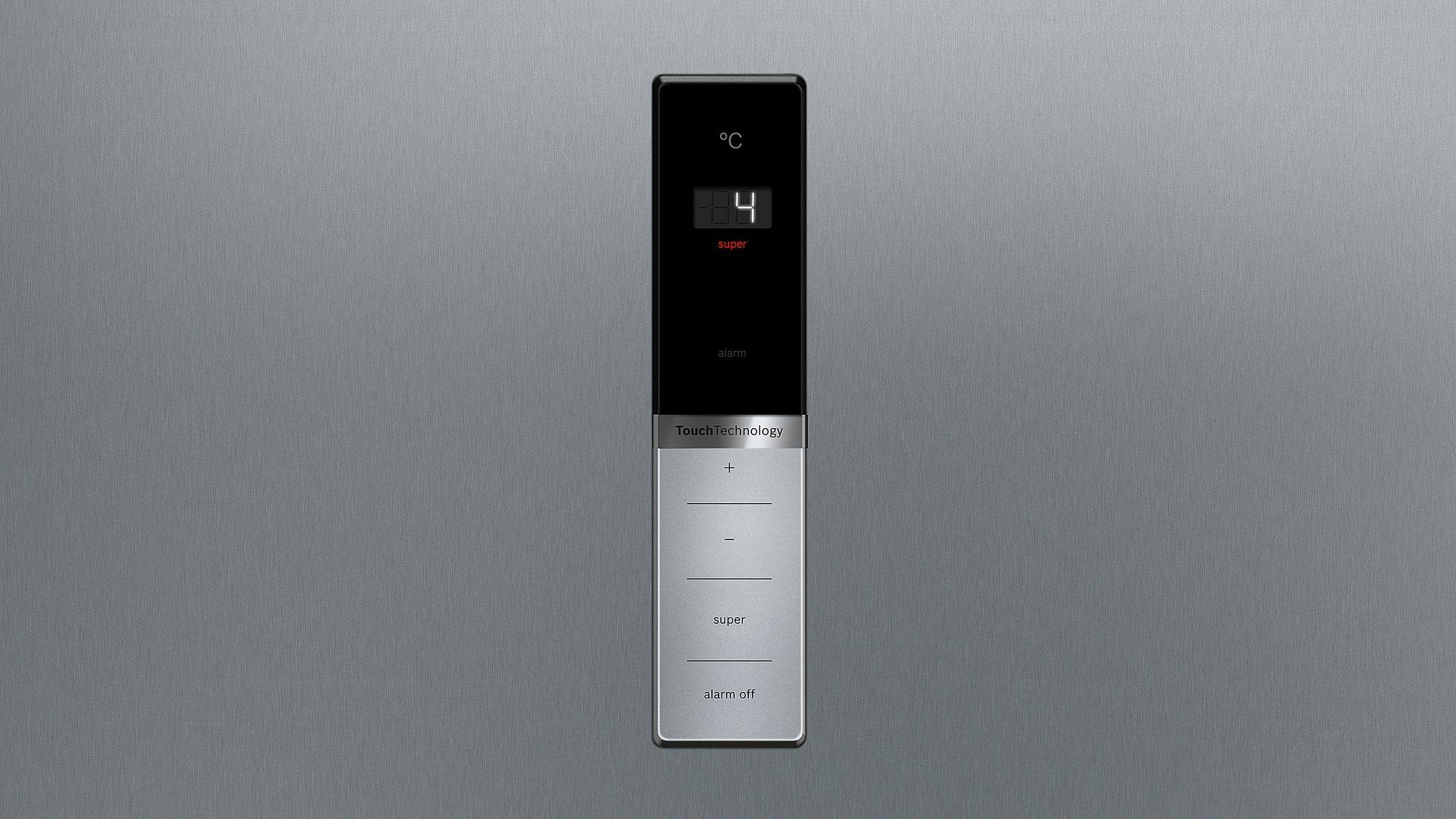 Bosch Kühlschrank Tür : Bosch stand kühlschrank türen edelstahl mit anti fingerprint