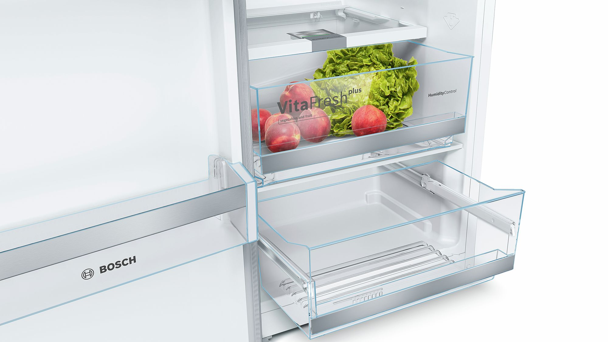 Bosch Kühlschrank Klein : Bosch stand kühlschrank türen edelstahl mit anti fingerprint