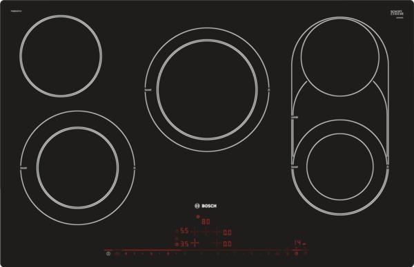 bosch kochstelle 80cm glaskermaik pkm801dp1d. Black Bedroom Furniture Sets. Home Design Ideas