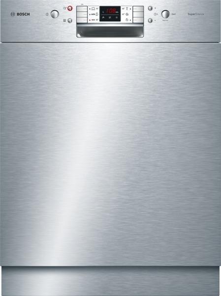 Bosch Unterbau-Geschirrspüler »SuperSilence«ActiveWaterEdelstahl SMU68N25EU EEK:A++ 1