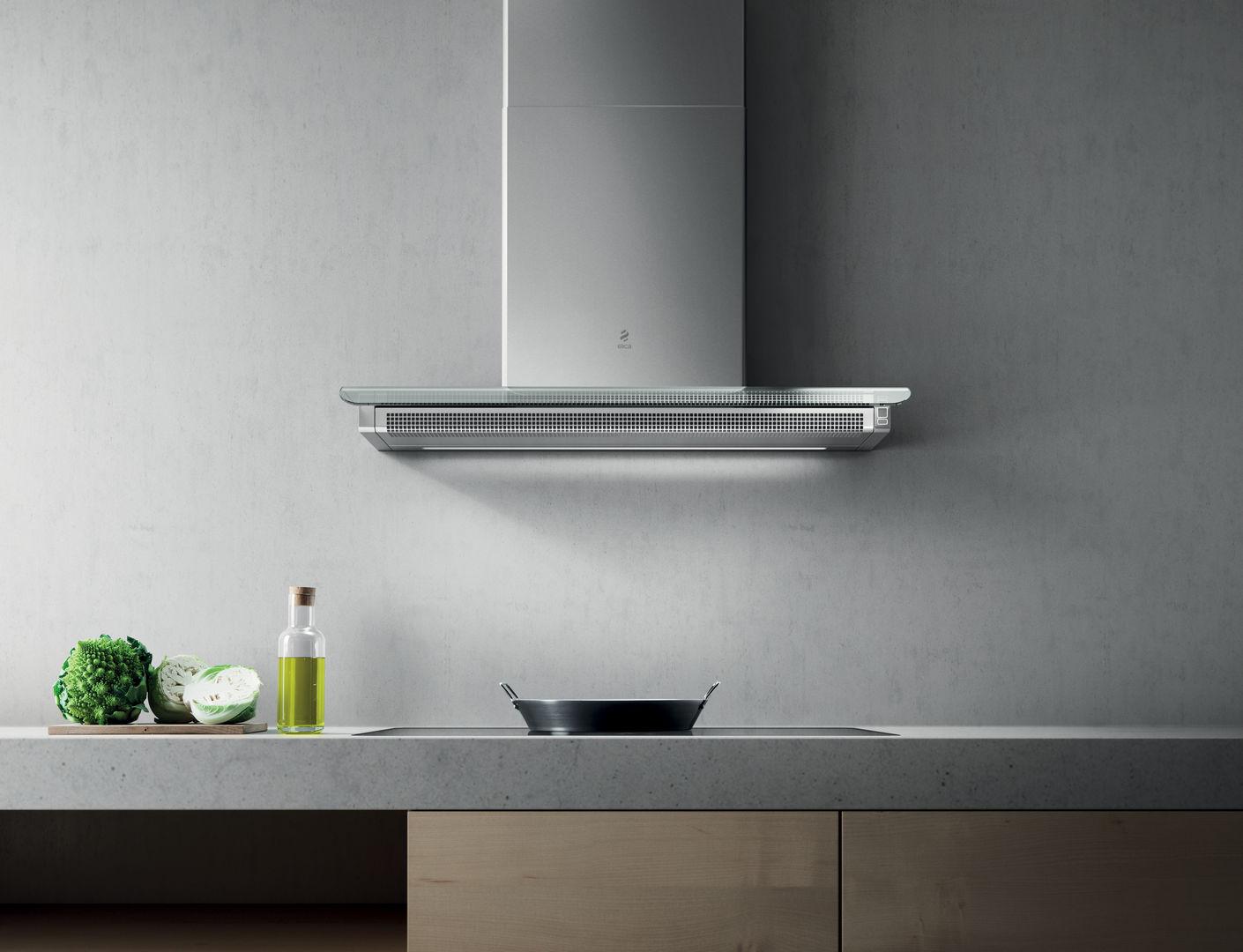 Elica Dunstabzugshaube Stripe Wandhaube 90 Cm Glas Weiß : Elica serendipity ix a dunstabzugshaube cm edelstahl glas