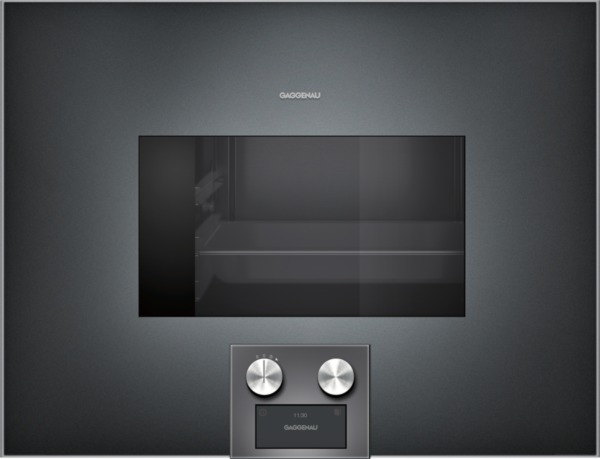 gaggenau dampfbackofen anthrazit rechtsanschlag bedienung untenbs474101. Black Bedroom Furniture Sets. Home Design Ideas