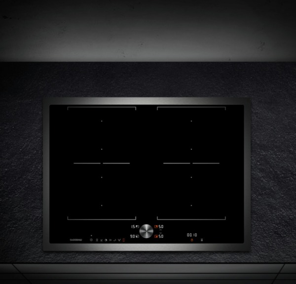 gaggenau kochfeld flex induktion edelstahlrahmen ci272110. Black Bedroom Furniture Sets. Home Design Ideas