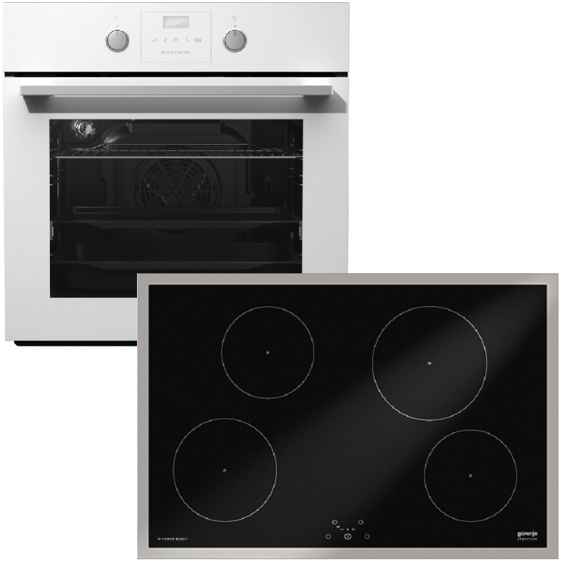 Gorenje Backofen Set Black Pepper W02: BO637E21WG + IT734X
