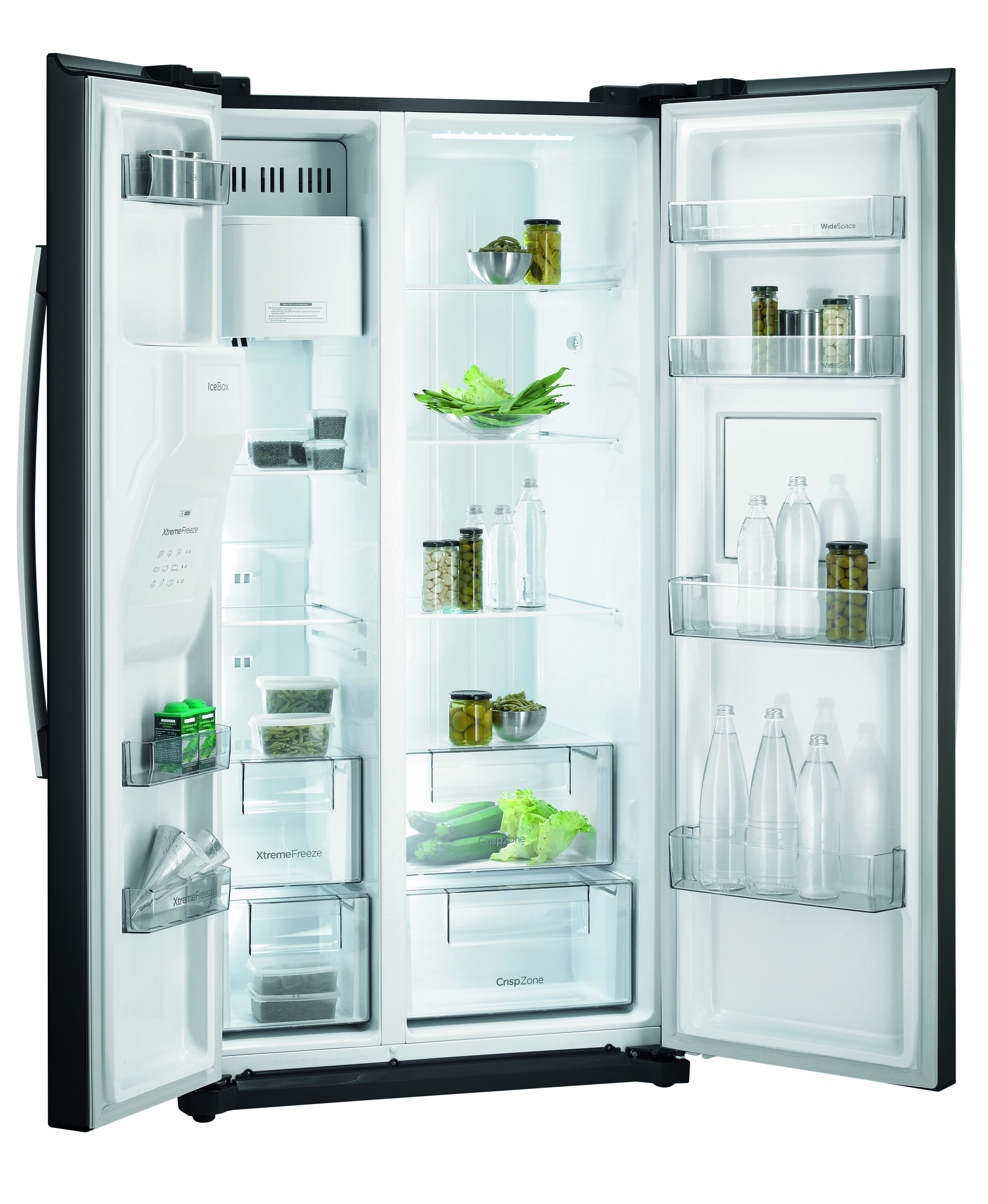 Kühlschrank Side Schwarz »–› PreisSuchmaschine.de