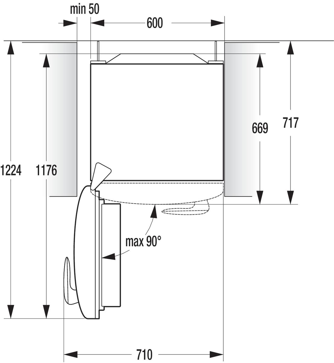 gorenje k hlschrank olive t ranschlag links orb153ol l. Black Bedroom Furniture Sets. Home Design Ideas