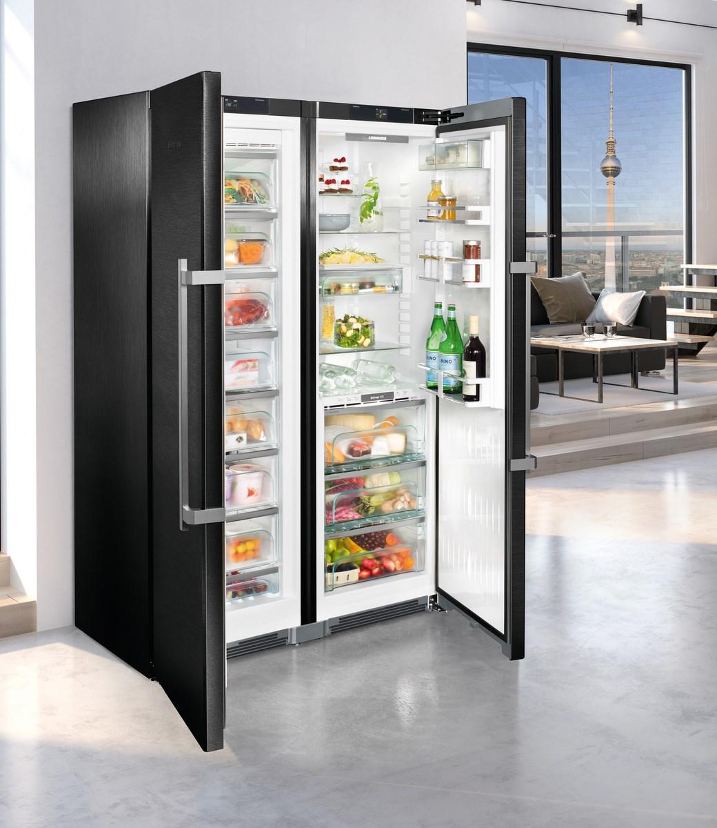 Liebherr Side By Side Kühlschrank Premium Mit Biofresh Und Nofrost